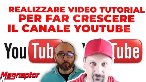 Realizzare video tutorial. Ecco come Marco Salvo ha fatto crescere il suo canale youtube